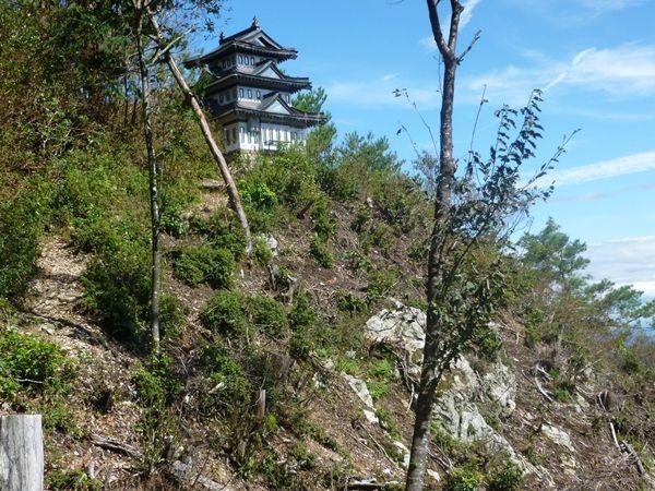 大桑城 - お城散歩