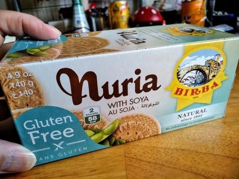 スペイン製 Nuria グルテンフリービスケット1