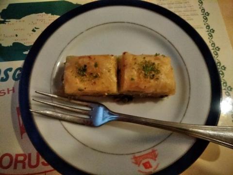 トルコ料理店ボスボラスハサンでディナー9
