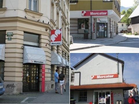 スロヴェニアのスーパー Mercator