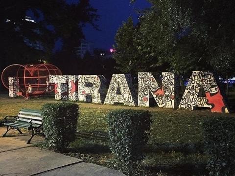 アルバニア-ティラナ