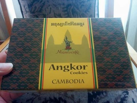 カンボジアアンコールクッキー1