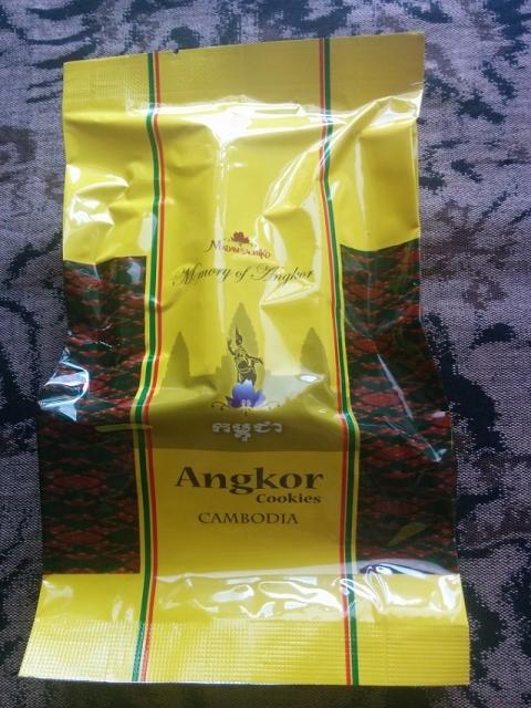 カンボジアアンコールクッキー4