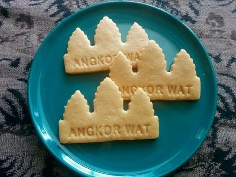 カンボジアアンコールクッキー3