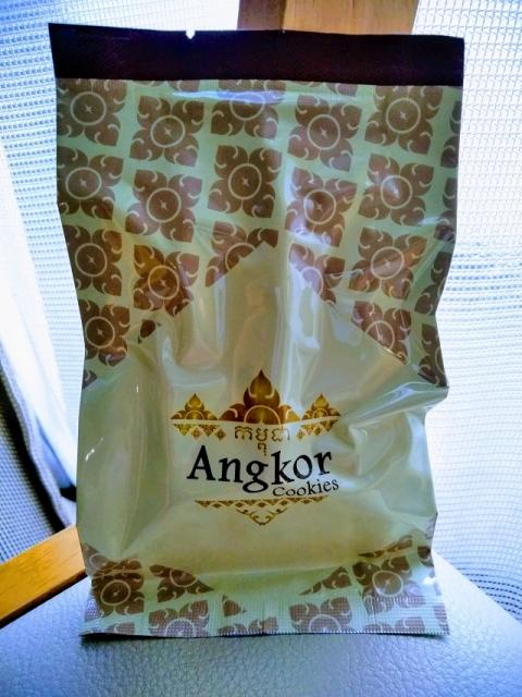 カンボジア製アンコールワットクッキー4