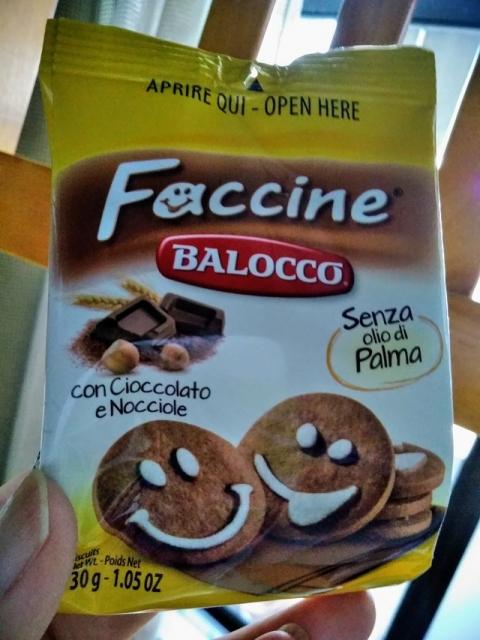 イタリア バロッコ社製ココアビスケット ファッチーネ1
