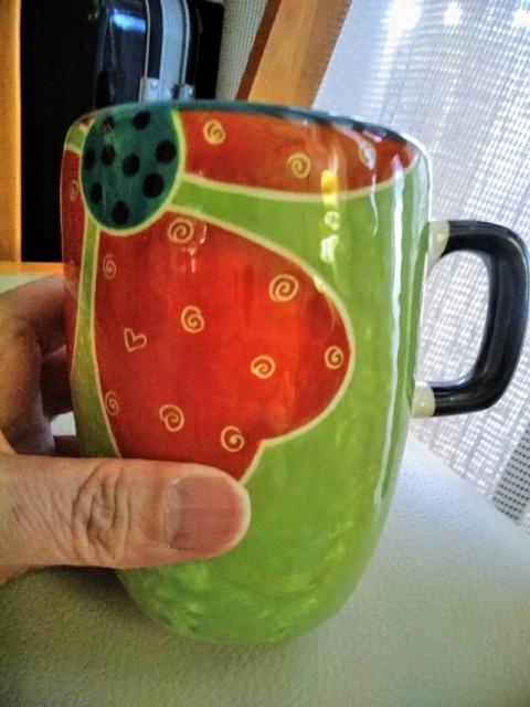 メキシコ製大きなマグカップ1