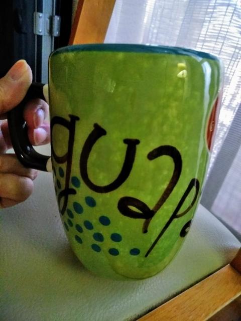 メキシコ製大きなマグカップ2