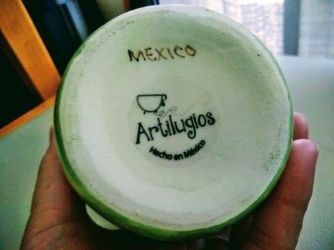 メキシコ製大きなマグカップ4