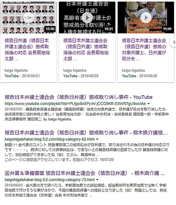 被告日本弁護士連合会(被告日弁連)懲戒取り消し事件 - 栃木県介護被害者会