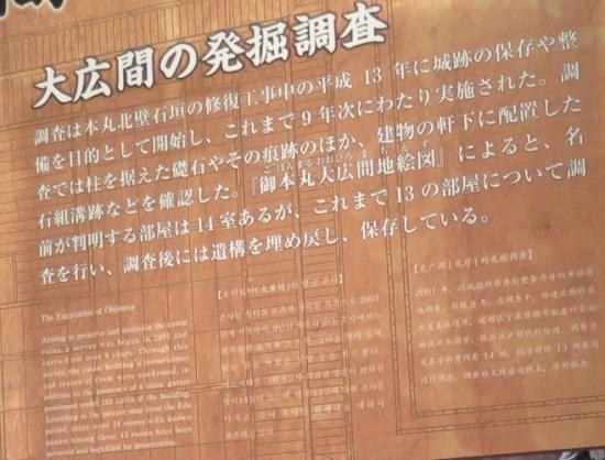 仙台城 見聞館