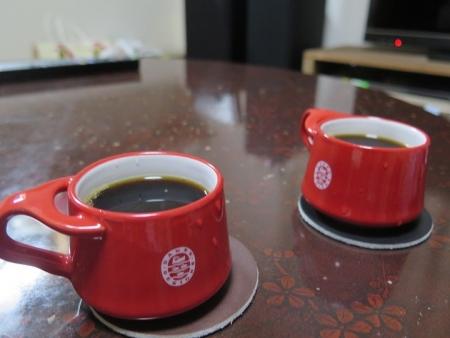 コーヒーでホット一息