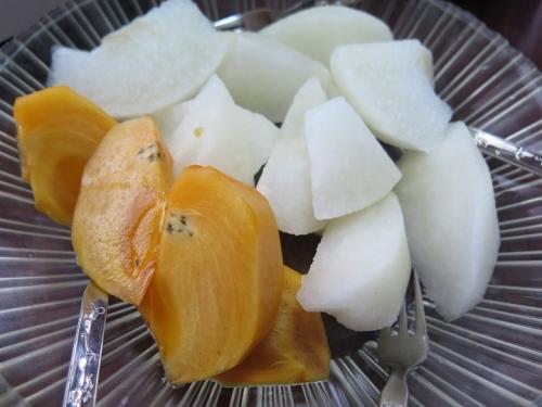 ニッコリ梨と高級柿