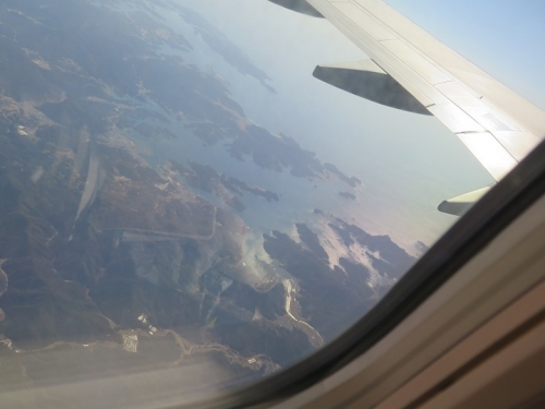三重県上空