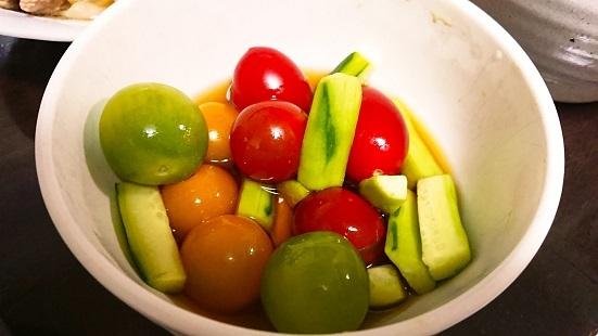 トマトの酢の物