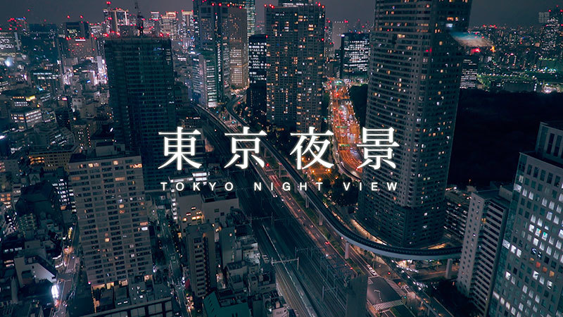 東京夜景(世界貿易センタービル・東京タワー)_01