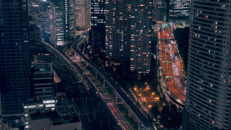 東京夜景(世界貿易センタービル・東京タワー)_02