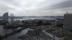 2016.10月 横浜のホテルから見た風景