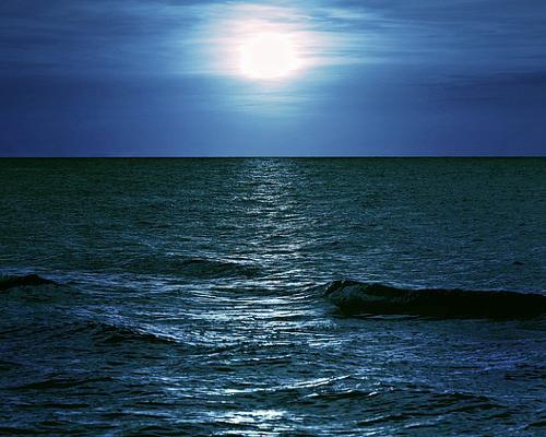 500 夜の海