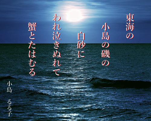 小島の 白砂