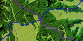 下糟屋・伊勢原・神戸付近の地図