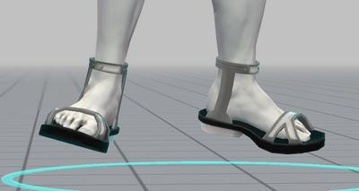 靴とファンタジーポーズ追加 (4)