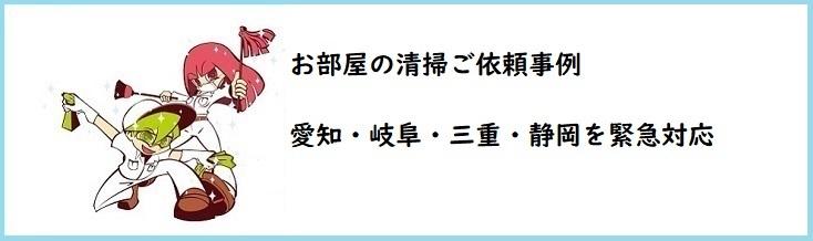 ごみ屋敷・汚部屋清掃 愛知 岐阜 三重 静岡 滋賀対応