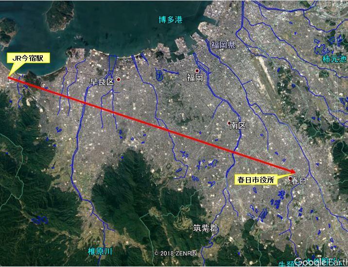 福岡平野の河川