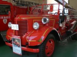 クラシックな消防車