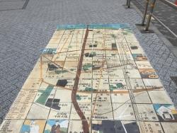 キャンパス前 散策マップ