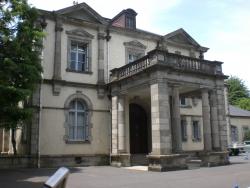 公爵邸 玄関前