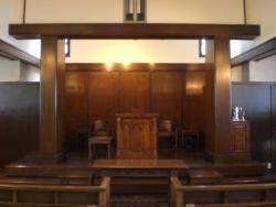 高輪教会 教会内