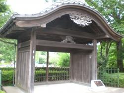遊郭の玄関