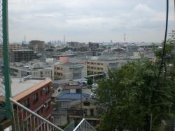 川口市が見渡せる展望