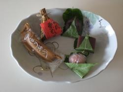蔵前 栄久堂の和菓子