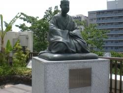 深川 芭蕉像
