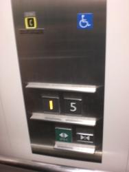 港区 高輪コミュニティーセンター5階→1階