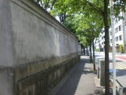 港区 華頂宮邸 外壁