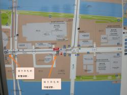 豊洲市場 全体地図