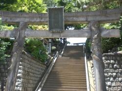 品川神社 双龍鳥居 全体