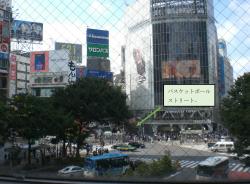 渋谷 バスケットボールストリート