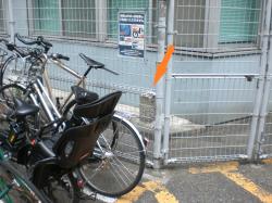 渋谷 陸軍標識の位置