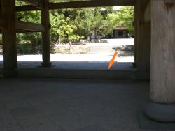 北鎌倉 円覚寺 山門敷居