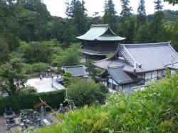 北鎌倉 円覚寺 龍隠庵 境内の眺め2