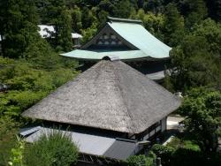 北鎌倉 円覚寺 龍隠庵 境内の眺め1