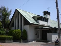 港区 二本榎通り 日本基督教団高輪教会