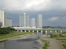 二子玉川 新丸子橋からの眺望1