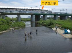 二子玉川 兵庫島公園1JPG