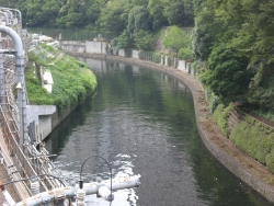 お茶の水橋 神田川開削の跡