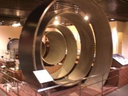 東京都水道歴史館 日本最大級の水道管